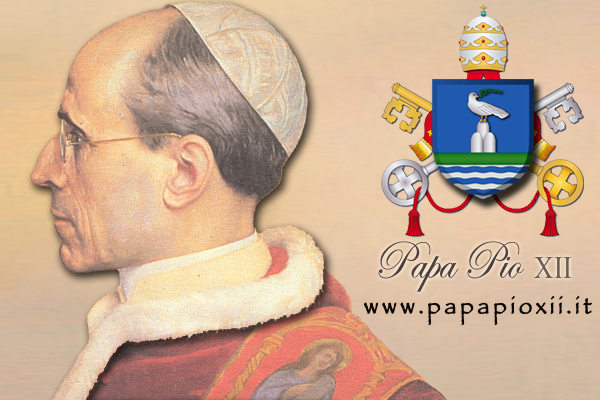 Inserisci il banner di Papa Pio XII sul tuo sito