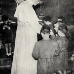 con orfani di villa nazareth