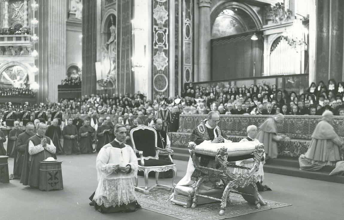 Beatificazione di Raffaella Maria del Sacro Cuore • 18 maggio 1952 • ©Archivio La Famiglia Spirituale L'Opera