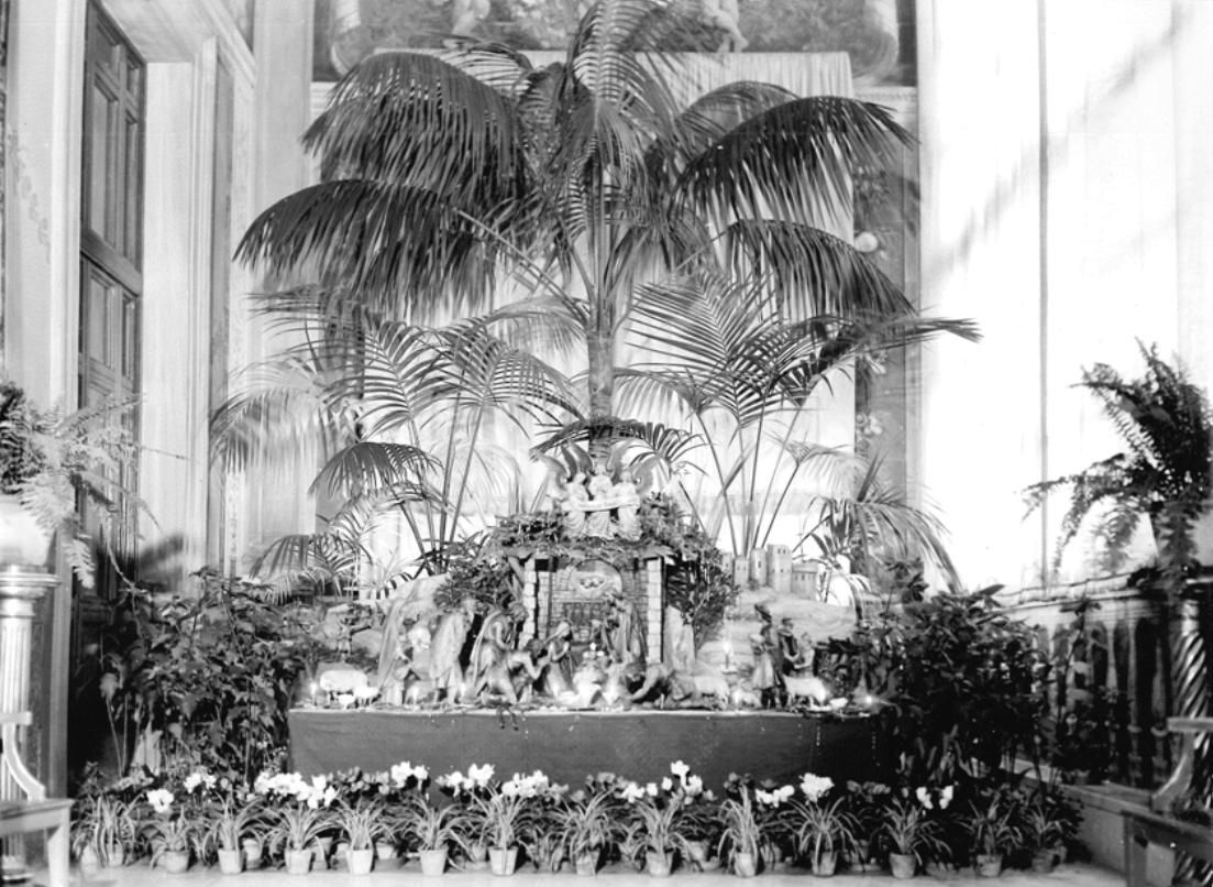 Presepe Appartamento Pio XII - Archivio FSO - clicca per ingrandire