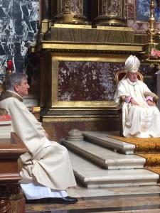 S.E.R. Mons. Giuseppe Sciacca e Mons. Natalino Zagotto